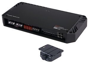 POWER ACOUSTIK BAMF-5500/1D 5500W MONO D Car Amplifier Amp BAMF55001D + Remote