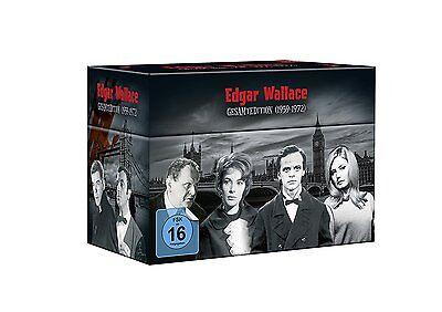 Edgar Wallace - Gesamtedition - 33 DVD Box