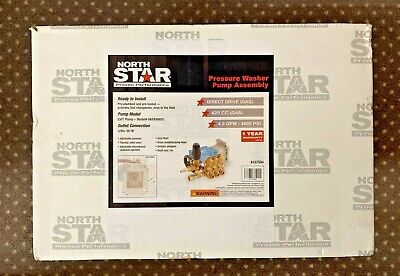 North Star A15759 Pressure Washer Pump Assembly Cat Pump Model 66dx40gg1 4000psi