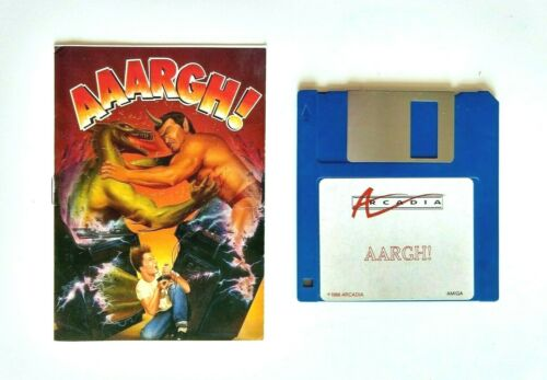 AARGH!, game by Arcadia for Commodore Amiga (1988)