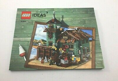Lego 21310 (INSTRUCTION BOOK ONLY) Ideas Old Fishing Store 2017 Retired