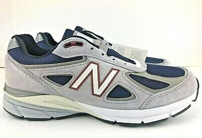 New Balance 990V4 Running Shoes Grey Navy Mens M990GN4 Choose Size Made In USA