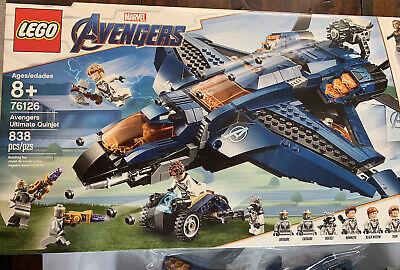 Lego Avengers Marvel Ultimate Quinjet 76126