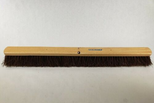 "PRO-SOURCE 36"" Heavy Duty Palmyra Push Broom Head Only 4"" Bristle Length 180-36"
