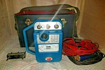 Megger Biddle Direct Reading Earth Ground Tester With Leads Cat. 250260