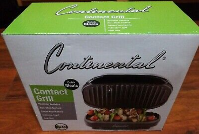 BRAND NEW IN BOX CONTINENTAL CONTACT GRILL -FREE SHIP- for sale  Hannibal