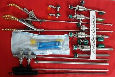 Laparoscopic Brand New Instruments Set Addler
