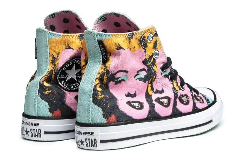 32af8f38002 Brand New Andy Warhol Marilyn Monroe Converse All stars Chuck Taylors  Womens Shoes Gumtree Australia Newcastle ...