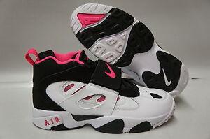 Nike-Air-Diamond-Turf-II-Black-Pink-Flash-White-Sneakers-Girls-GS-Size-7