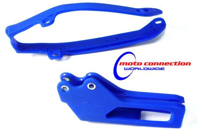 YAMAHA WR250F WR450F WRF 09-13 ENDURO BLUE SWINGARM CHAIN SLIDER & GUIDE 4807