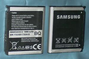 Genuine NEW Samsung AB603443CU Battery G800 S5230 Tocco Lite PIXON M8910 U700