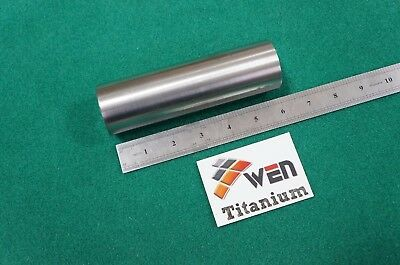 50mm Dia Titanium 6al-4v Round Bar 1.97 X 6 Ti Grade 5 Rod Solid Metal 1pc