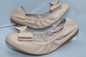 Miu-Miu-Calzature-Donna-F005-Nappa-Ballerina-Ballet-Flat-Shoes-Size-38-NIB