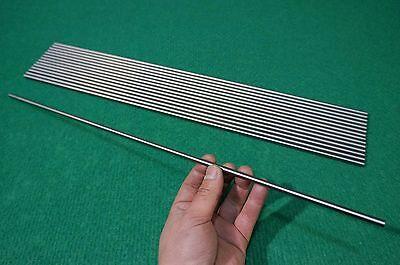 6mm Dia Titanium 6al-4v Round Bar .236 X 20 Ti Grade 5 Rod Alloy Metal 15pcs