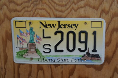 STATUE OF LIBERTY STATE PARK License Plate # 2091