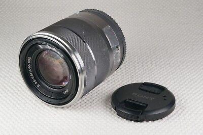 SONY SEL18-55mm f3.5-5.6 OSS LENS - SILVER VERSION -  E-MOUNT