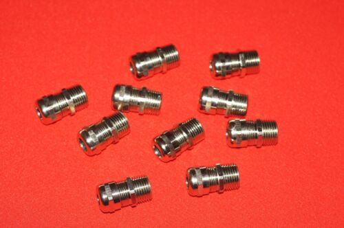 10 pcs Altech 80.123 Nickel Plated NPT 1/2 inch Cable Gland Strain Relief New