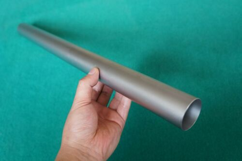 "Titanium Grade 9 Tube ( 1.5"" x .035"" x 20"" ) Seamless 3al-2.5v Round Tubing"