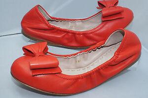 Miu-Miu-Calzature-Donna-F005-Nappa-Ballerina-Ballet-Flat-Shoes-Size-38-5-NIB