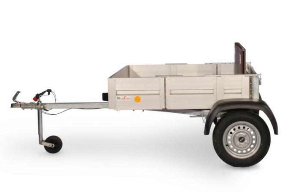 Faltos der einfach faltbare Alu PKW Anhänger 750 kg 242x124x30 cm in Schöneiche bei Berlin