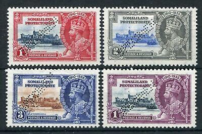 SOMALILAND PROTECTORATE 1935 SILVER JUBILEE SPECIMEN SG86s/89s MINT