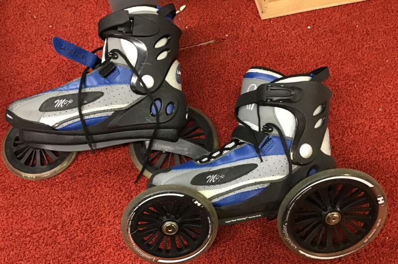LandRoller Mojo Rollerblades Skate Angled Wheel Technology Mens 11/ W 12