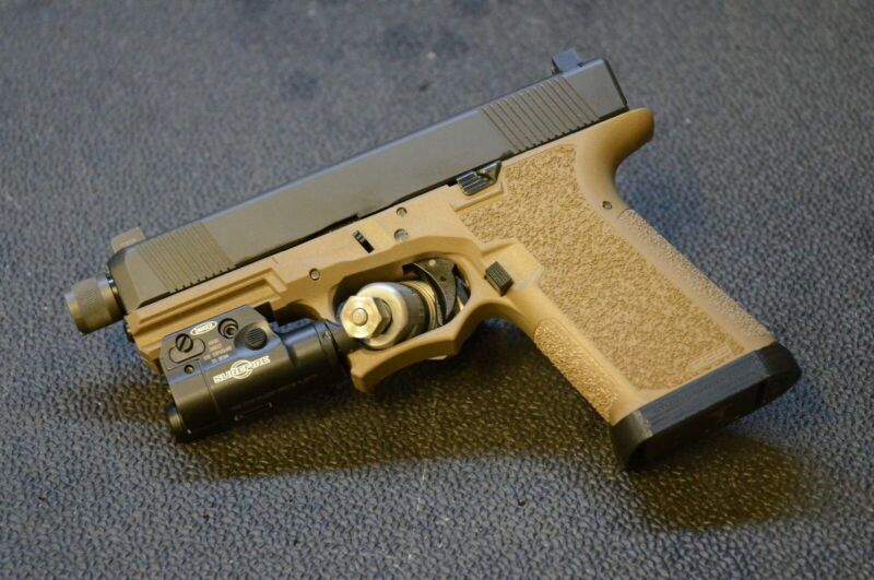 Extended Magwell for Polymer 80 Glock Frame