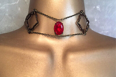 Lady Melisandre Choker Necklace- Halloween Cosplay Costume- Game of Thrones- GOT - Games Of Throne Halloween Costume