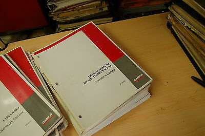 Case Lx110 Front End Loader Owner Operator Operation Manual Dx18e Dx24e Tractor