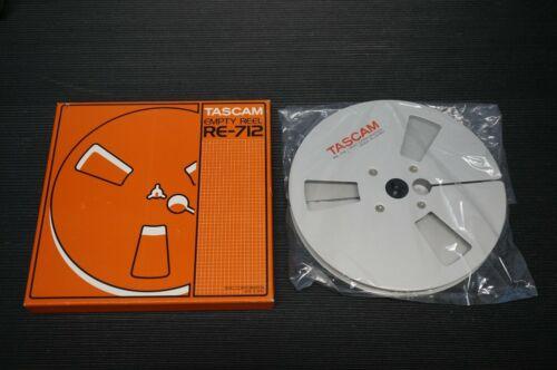 "TASCAM TEAC RE-712  7""  ALUMINIUM 1/4 METAL TAKE UP REEL NEW IN THE BOX"