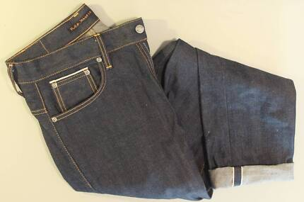 Nudie Jeans Thin Finn Dry Selvage W31 L32 worn TWICE!