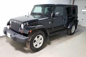 2012 Jeep WRANGLER UNLIMITED Sahara |Rmt Start|New Tires|Local|H