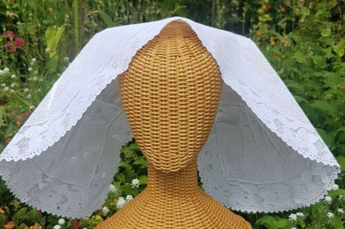 Antique Dutch Lace Bonnet from Zeeland Beautifully Made
