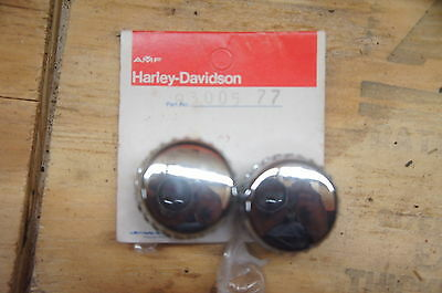Harley Davidson NOS NEW 93005-77 Knob Set of 2