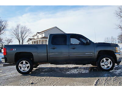 2011 Silverado 2500HD Crew Duramax LTZ Loaded 4x4 Salvage Wrecked