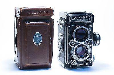 TLR камеры Rolleiflex 3.5E Working Meter,