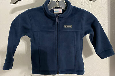 COLUMBIA 2T JACKET TODDLER FLEECE NEW INFANT BABY POLYESTER BIRCH FALLS NAVY