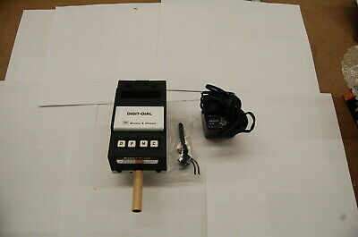 Brown Sharpe 0-.020 X .00005 Res. Digit-dial Electronic Digital Indicator