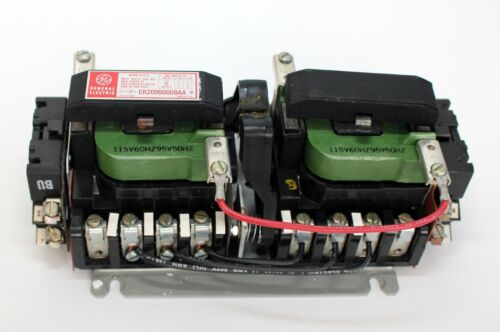 General Electric CR209B002BAA Reversing Contactor Motor Starter GE - NEW