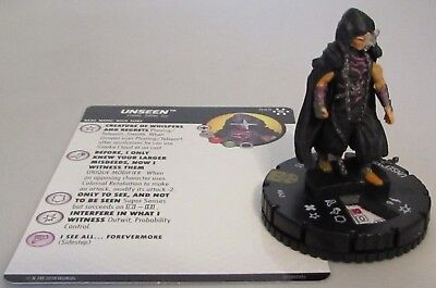Unseen 043 Avengers Infinity Marvel Heroclix Super Rare Nick Fury