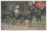 París - Madera De Boulogne. Fiesta De Flores. 1909 -  - ebay.es