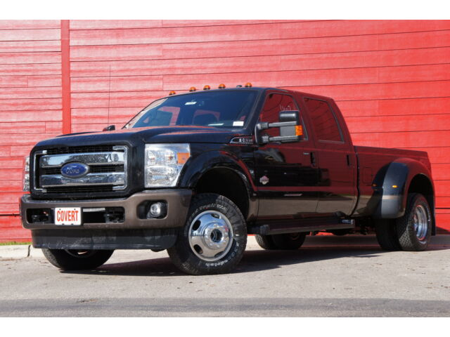Lifted F350 King Ranch Dually F350 4x4 Dually Black King