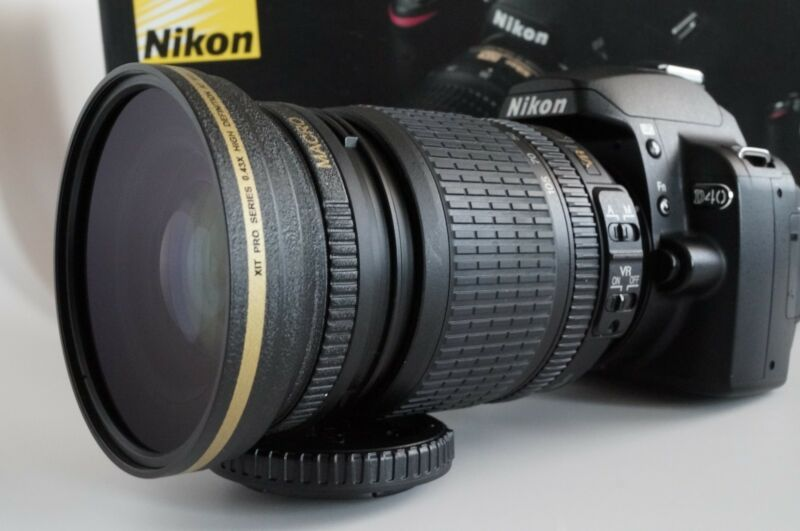 New 67mm 43x HD4 Wide Angle Macro Lens for Nikon Nikkor 18-70mm 18-135mm AF-S DX