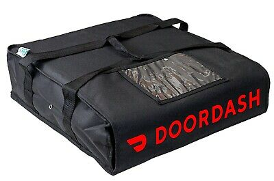 Doordash Pizza Delivery Bag Pizza Carrier Foam Padded Interior