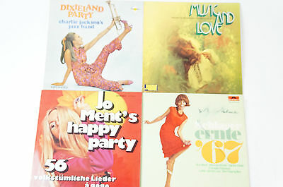 4 LPJohn Ments happy Party Charlie Jackson Schlager Ernte 67 Music and Love (39)