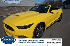 2015 Ford Mustang 2015 Ford Mustang - 2dr Conv V6