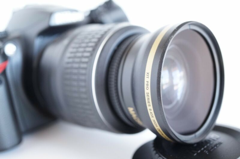 Wide Angle Macro Close Up Fisheye Lens for Nikon D3400 D7100 D3300 D40 d50 DCPL