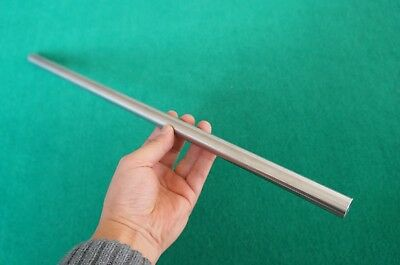 17mm Dia Titanium 6al-4v Round Bar .67 X 20 Ti Grade 5 Rod Metal Alloy 1pc