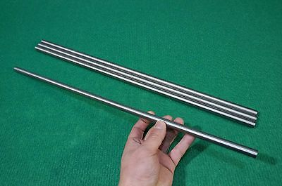 12mm Dia Titanium 6al-4v Round Bar .472 X 20 Ti Grade 5 Rod Metal Alloy 4pcs