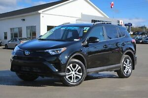2017 Toyota RAV4 LE AWD   REDUCED   HEATED SEATS   BACK UP CAM